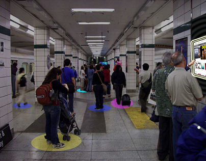 A traveller's commute