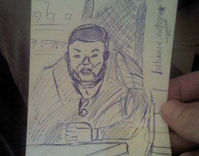 Sketch, April 17