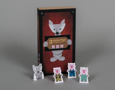 3 Little Pigs Puppet Theatre