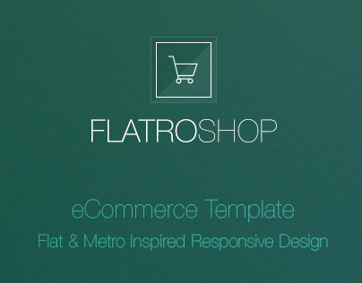 Flatro - eCommerce HTML Template