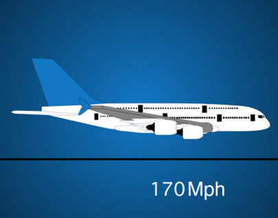Infographic video: airplanes