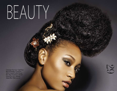 2014 UPTOWN Weddings & Travel issue - Beauty spread
