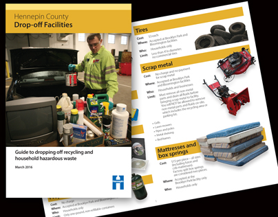 Booklet: Drop-off Facilities