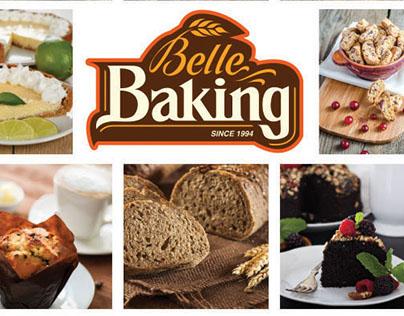 Flyer y brochure para BelleBaking Miami