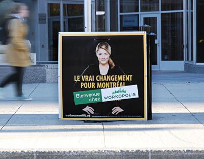 Advertising Stunt - Workopolis / Lendemain d'élections