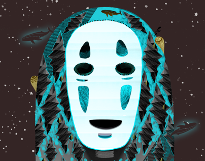 Lonely No-Face (Spirited Away)
