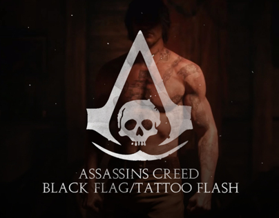 ASSASSINS CREED BLACK FLAG / TATTOO FLASH