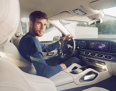 Karen Khachanov & newMercedes-Benz GLE