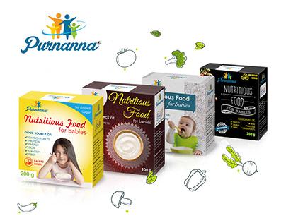 Purnanna. Packaging design