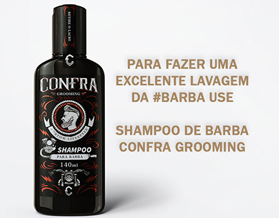 Shampoo de Barba Confra - Stories Covid-19