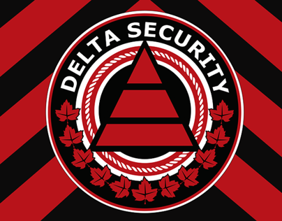 Delta Security Logo/Badge Design