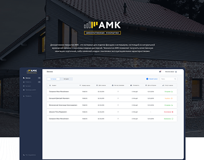 Automated sales system AMK
