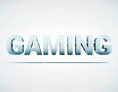 Gaming Text Animation