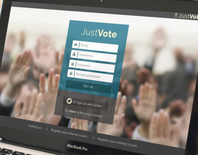 JustVote project App