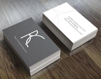 Logo and Business Cards for riccardocorna.com