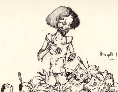 Zombie sketch |2013
