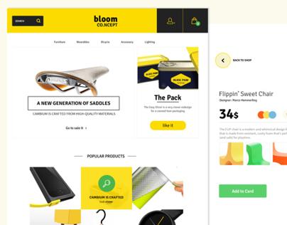 E-Commerce Theme Concept