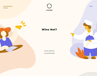 Wine not? | UI/UX web and mobile design