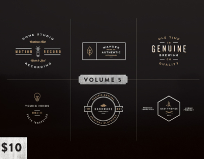 Vintage Logo Kit:  Volume Five