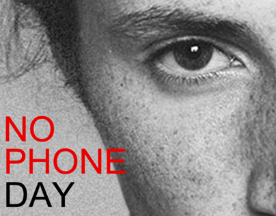 No Phone Day - Adikphonia - Event Ad