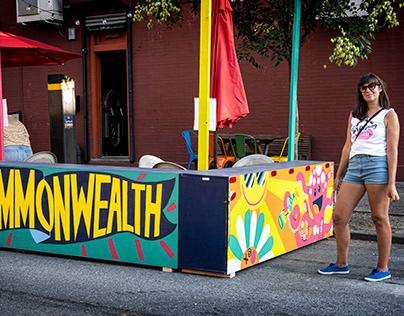 Commonwealth signage
