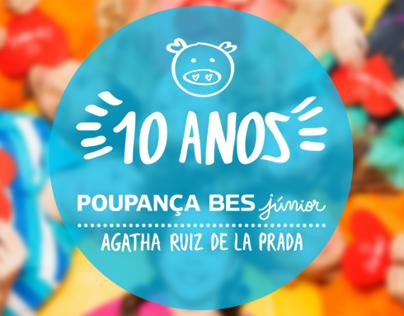 Poupança BES Júnior - 10 Anos - Website