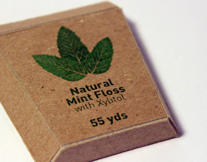 Radius Natural Mint Floss Packaging Redesign