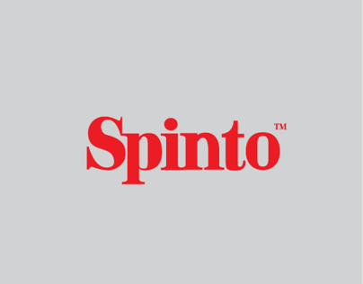 Spinto Typeface.