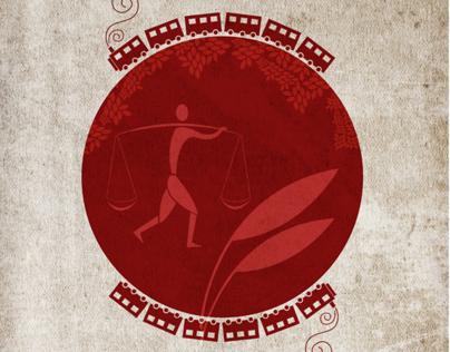 Satyajit Ray's movies minimalistic posters