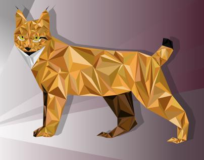 Iberian Lynx Illustration
