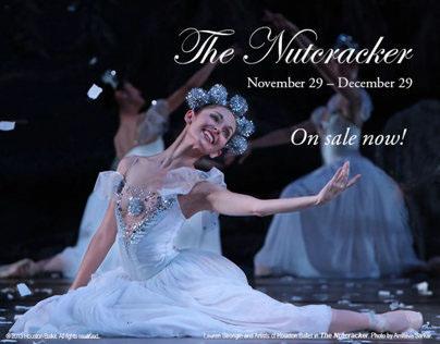 Design for Houston Ballet's The Nutcracker.