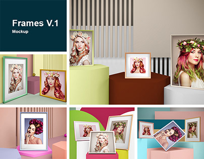 Frames V.1 Mockup