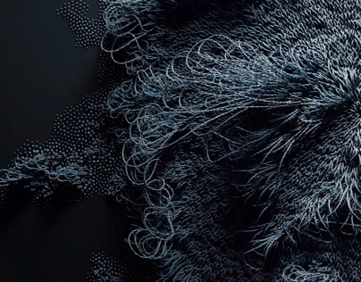 Knitting rnd in houdini