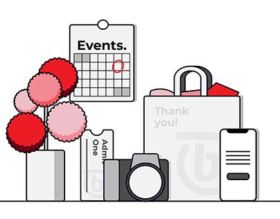 Illustrations for Compu b website