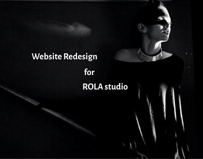 Branding & Web Redesign for Photography Studio