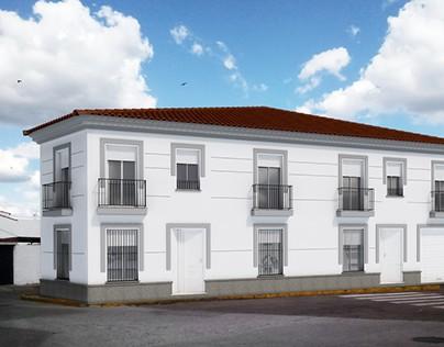 Edificio viviendas – Santa Olalla del Cala