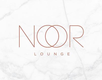 Noor Lounge - Brand Identity