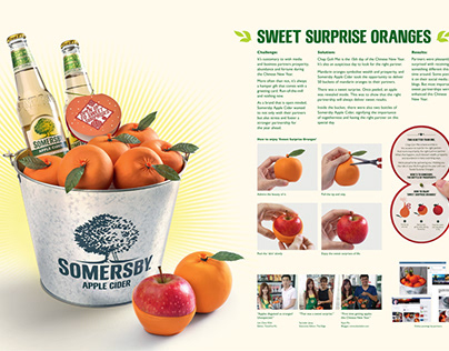 Somersby - The Apple That Cried Orange