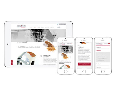 Chopin Technologie - UI UX Design, Webdesign, Ecommerce