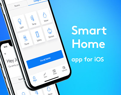 Concept of smart home app for test task