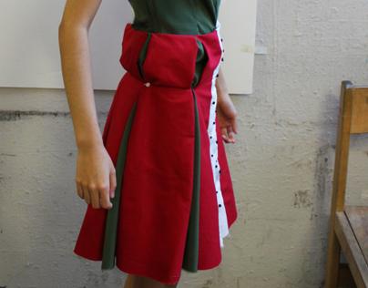 Dragon Fruit Inspired Dress
