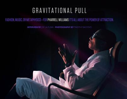 """Pharrell """"Gravitational Pull"""" for Complex"""