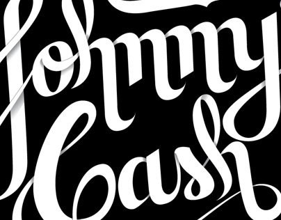 Johnny Cash - Lettering