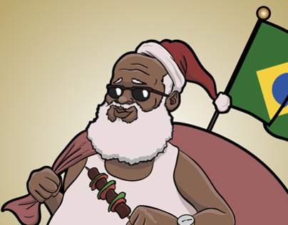 Brazilian Santa Claus
