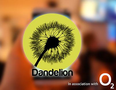 Dandelion App | O2 UK