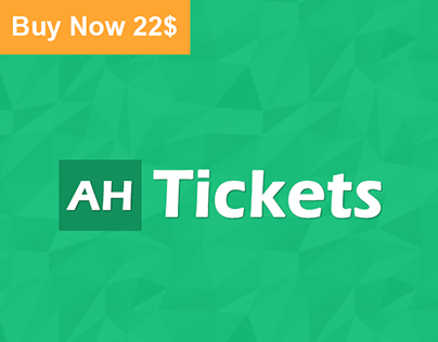 AH Tickets - Help And Support System