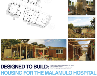 Deisnged to Build: Housing for the Malamulo Hospital