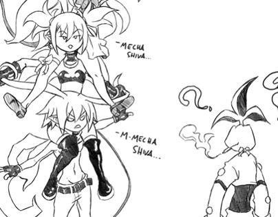 Sketch: Disgaea Tower Attack