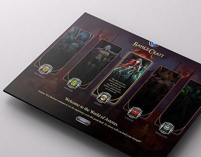 BattleCraft website redesign