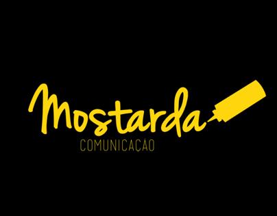 Logo Mostarda Comunicações